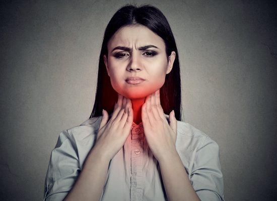 Боль в горле: настоящая боль в шее!